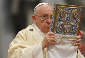 """Pope Francis leads the Mass for the centenary of the Armenian """"martyrdom"""""""