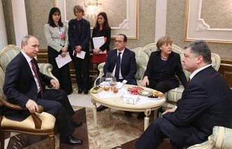 Minsk talks participants agree on ceasefire, weapons withdrawal, Donbas reform — Putin