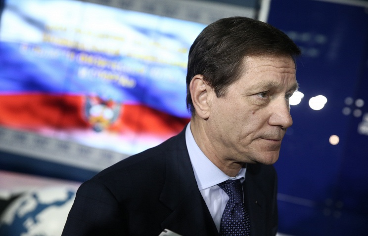 President of the Russian Olympic Committee Alexander Zhukov