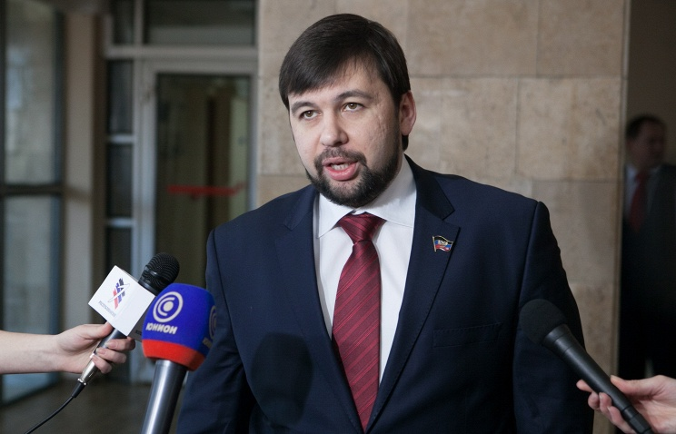 Representative of the Donetsk People's Republic (DPR) at the Contact Group, Denis Pushilin